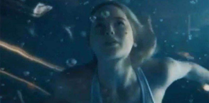 Jennifer Lawrence Goes for a Terrifying Space Swim in New Passengers Clip