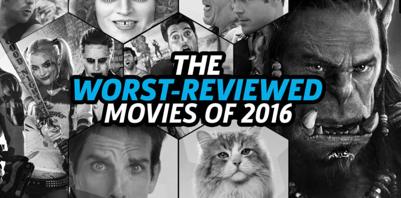 The Worst-Reviewed Movies of 2016