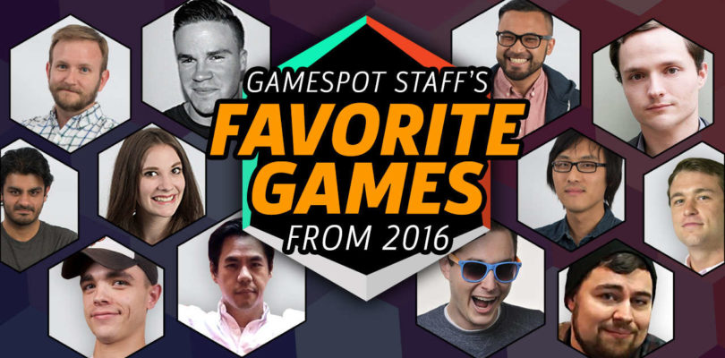 The GameSpot Staff's Favorite Games of 2016