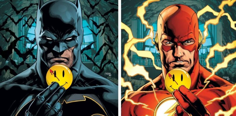 Batman and the Flash Explore Mystery Watchmen Connection to Rebirth