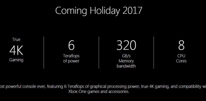 Project Scorpio Website Removes Mention Of VR, Microsoft Responds