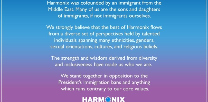 Harmonix Speaks Out Against Trump Immigration Ban